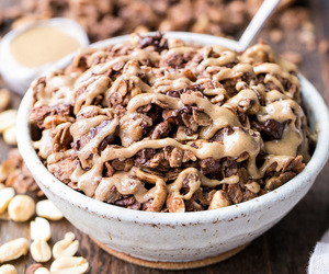 food, granola, and sweets image