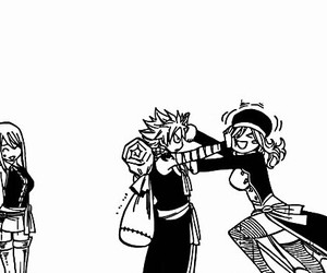 Lucy, natsu, and fairy+tail image
