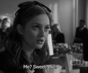 gossip girl, sweet, and blair waldorf image