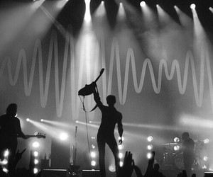 arctic monkeys, alex turner, and black and white image