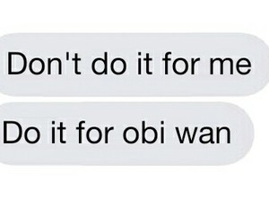 aesthetic, text message, and star wars image