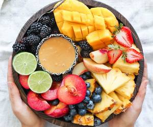 blueberries, FRUiTS, and mango image