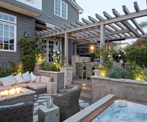 back yard, decor, and design image