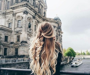 hair, hairstyle, and travel image