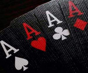 cards, black, and poker image