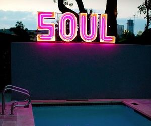 soul, pool, and pink image