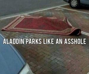 funny, aladdin, and disney image