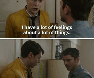funny, todd, and dirk gently image