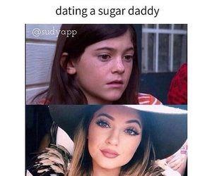 money, puberty, and kylie jenner image