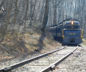 photography, railroad, and train image