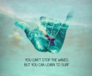 surf, quotes, and background image