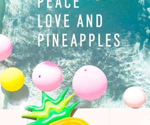balloons, green, and peace image