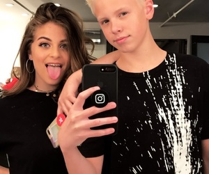 baby ariel, carson lueders, and babyariel image