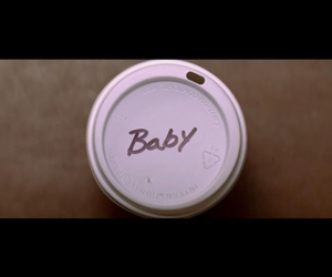 baby, coffee, and environment image