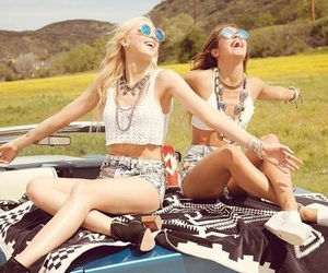 friendship, girly, and friends image