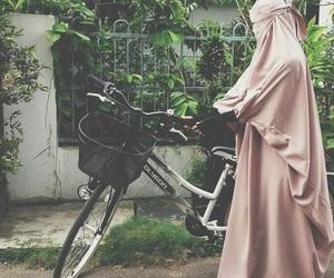 allah, bike, and islam image