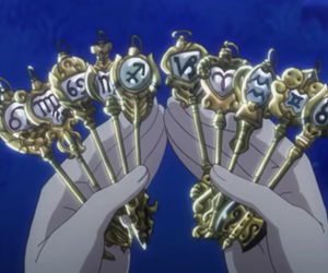 keys, Lucy, and fairy tail image
