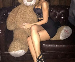 teddy bear, party night, and love wins image