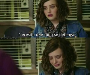 13 reasons why, frases en español, and frases tristes image