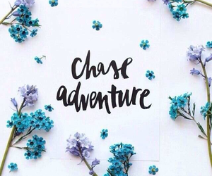 adventure, purple, and quotes image