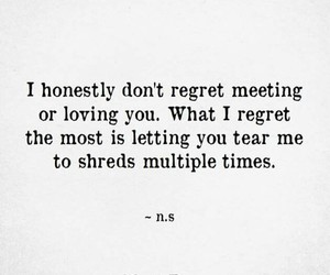 quotes, regret, and words image