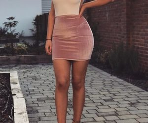 dress, body, and style image