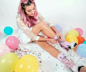 aesthetic, balloons, and beautiful image