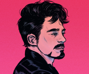 adorable, illustration, and tony stark image