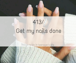 beautiful, nail, and teenager image