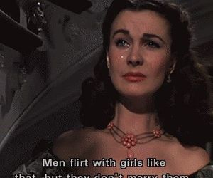 Gone with the Wind, girl, and Scarlett O'Hara image