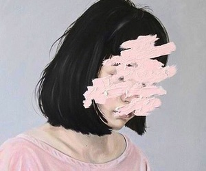 fakelove, fakepeople, and pink aesthetic image