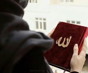 hijab, quran, and islam image