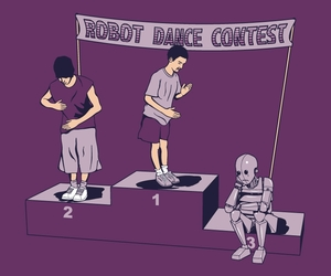 robot, lol, and awesome image