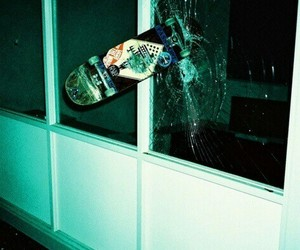 skate, skateboard, and broken image
