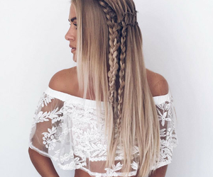 beauty, hair, and summer image