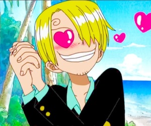 aesthetic, heart, and one piece image
