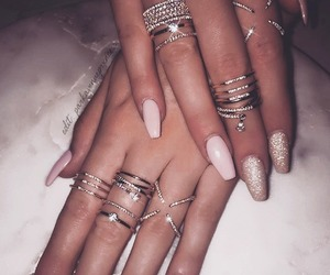 nails, rings, and silver image