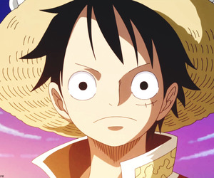 one piece, luffy, and monkey d. ruffy image