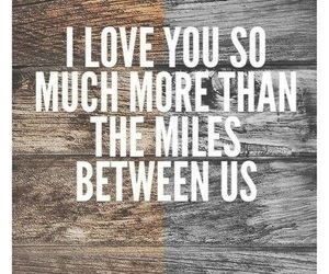 love, miles, and quote image