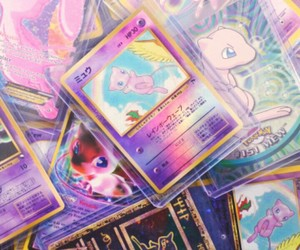 pokemon, pink, and cards image