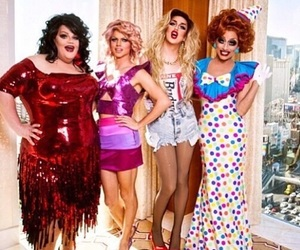 drag queens, rupauls drag race, and season 6 image