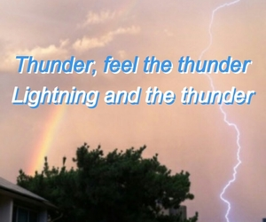 aesthetic, evolve, and lightning image