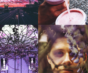 purple, slow hands, and this town image