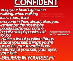 confidence, confident, and exercise image