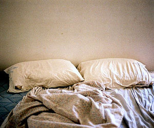 bed, pillow, and photography image