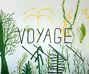 art, travel, and voyage image