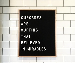 quotes, cupcake, and food image