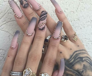 nails and tattoo image