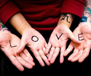 hands, love, and photography image
