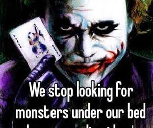 joker, monsters, and quotes image